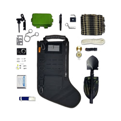 Gearrific Tactical Stocking + Stuffers with Survival Tools
