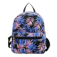 Canvas Shoulder Bag Printing Backpack school - www.DealsOnBackpacks.com