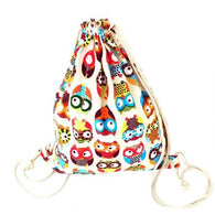 Backpack Women Owl backpack sac femme Canvas - www.DealsOnBackpacks.com