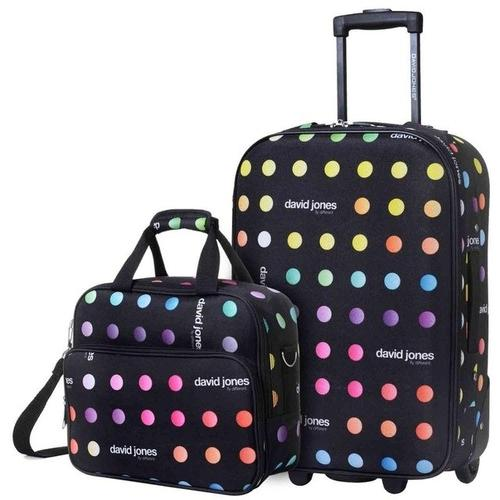 2 PIECE 20 inches carry-on luggage - www.DealsOnBackpacks.com