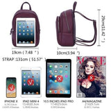 Female Backpacks Fashion Solid School - www.DealsOnBackpacks.com