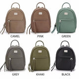 Women Mini Backpack female PU shoulder - www.DealsOnBackpacks.com