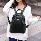 Fashionable Leather Backpack - www.DealsOnBackpacks.com