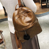 Fashion Leather Backpack Women Mini  Backpacks - www.DealsOnBackpacks.com