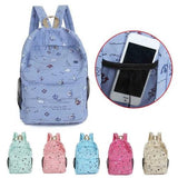 Fashion backpack women Cartoon Printing Women - www.DealsOnBackpacks.com