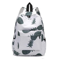 Fresh Style Women Backpacks cute  Pineapple Print - www.DealsOnBackpacks.com