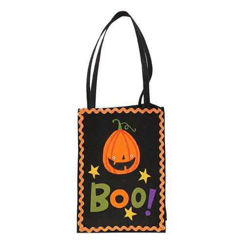 Halloween Pumpkin Gift Bag Child Candy Bags - www.DealsOnBackpacks.com