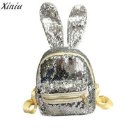est Backpack Women lady Girls shiny Sequins - www.DealsOnBackpacks.com