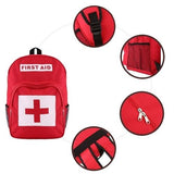 Red Cross Backpack First Aid Kit Bag Outdoor - www.DealsOnBackpacks.com