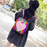 School Bags For Girls Summer Candy Transparent - www.DealsOnBackpacks.com