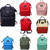 Unisex  Women men Solid Backpack School Travel - www.DealsOnBackpacks.com