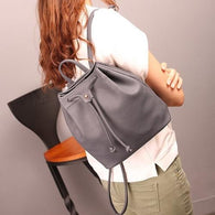 Womens Backpack Famous Brand Black Backpacks PU - www.DealsOnBackpacks.com