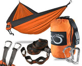 Double Camping Hammock With Upgraded Features - www.DealsOnBackpacks.com