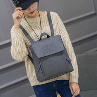 top brand Backpack Women  Girl Leather Rucksack - www.DealsOnBackpacks.com
