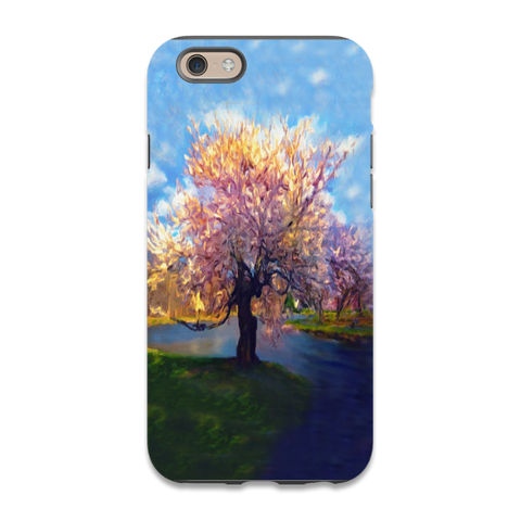 Beautiful Abstract River Tree Phone Case,iphone 6,iphone 6plus,iphone7,iphone 7 plus,galaxy s5,S6,S7,Galaxy Note 3,4,5