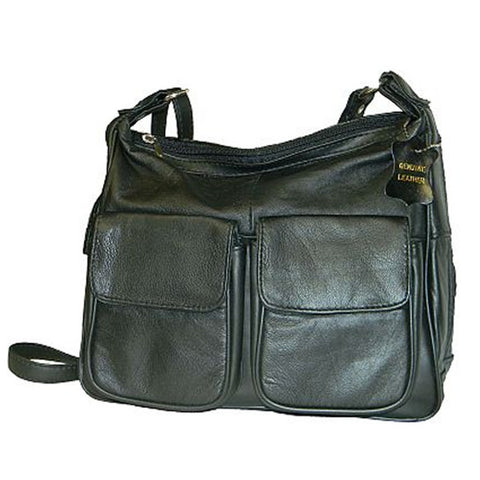 Lambskin Leather Handbag