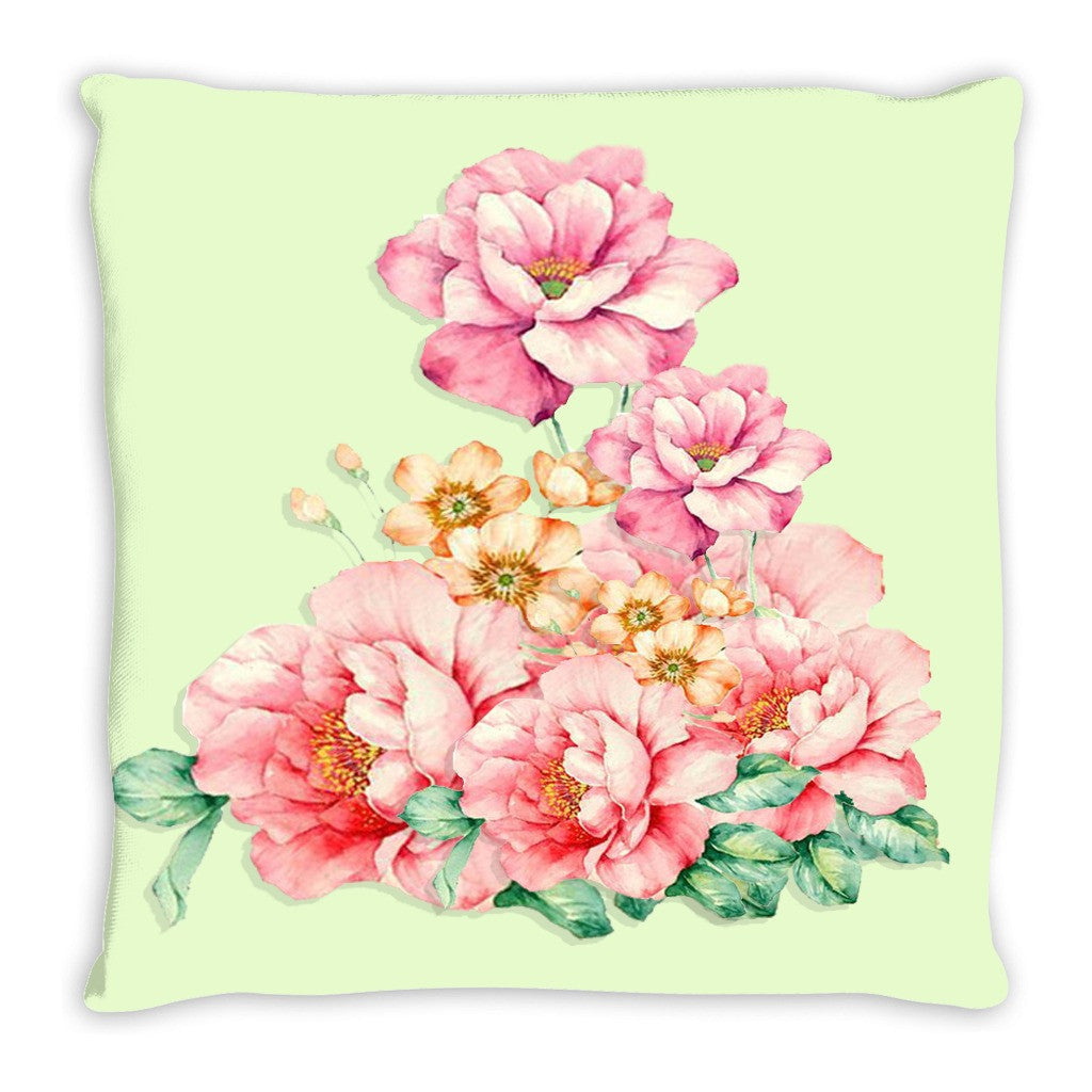 Throw Pillow.  Beautiful Floral Throw Pillow