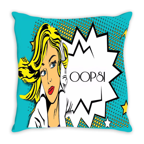 Throw Pillow.  Beautiful Pop Art Throw Pillow.  Matching Canvas Wall Art Available