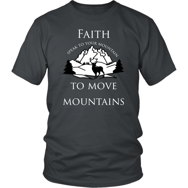 Faith to move mountains