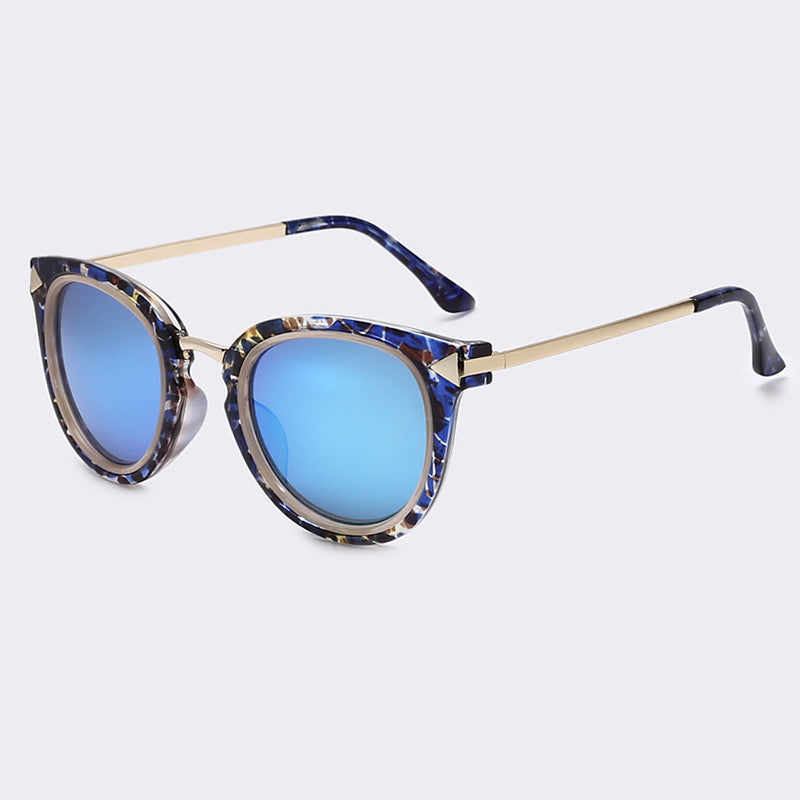 AOFLY Arrow High Quality womenss sunglasses. Round Sunglasses with case. High Fashion Sunglasses