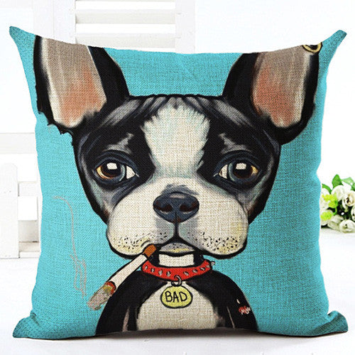 Dog Pillow Covers. Beautiful Colors!