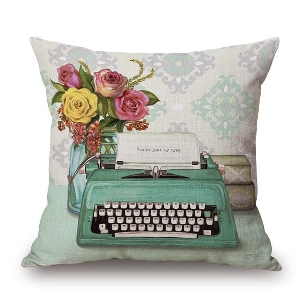 NEW!  Retro Cushion/Pillow Covers