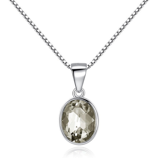 Womens Sterling Silver Necklace