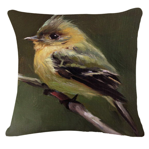 Bird Pillow Covers