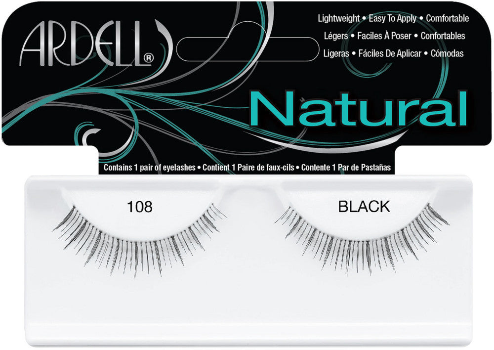 595e50dbb61 Ardell Natural Lash - 108 Black – Quality Beauty Supply