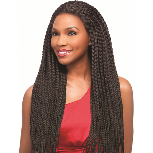 SENSATIONNEL LACE FRONT SENEGAL MAXI BRAID WIG
