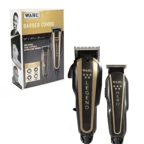 Wahl 5 Star Hero and Legend Barber Combo