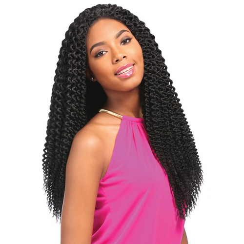 SENSATIONNEL LACE FRONT SENEGAL BLUNT BRAID WIG
