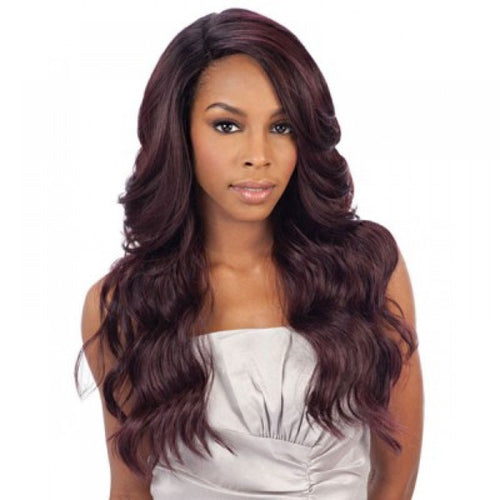 FREETRESS EQUAL BRAZILIAN NATURAL DEEP INVISIBLE L PART LACE FRONT DANITY WIG