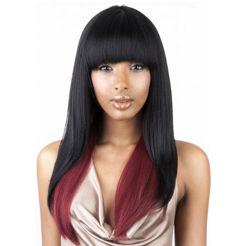ISIS COLLECTION BROWN SUGAR LACE FRONT SMP1B/RED WIG