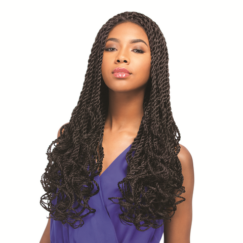 Freetress Fullcap Drawstring Half Wig Milan Girl