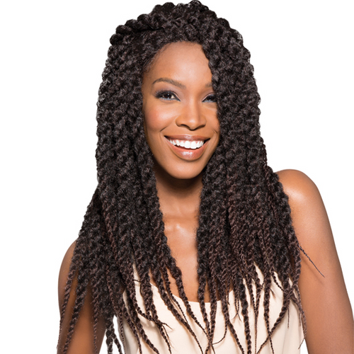 SENSATIONNEL LACE FRONT SENEGAL LOCKS BRAID WIG
