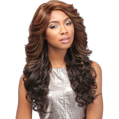 SENSATIONNEL EMPRESS CURVED PART LACE FRONT EDGE JASI WIG