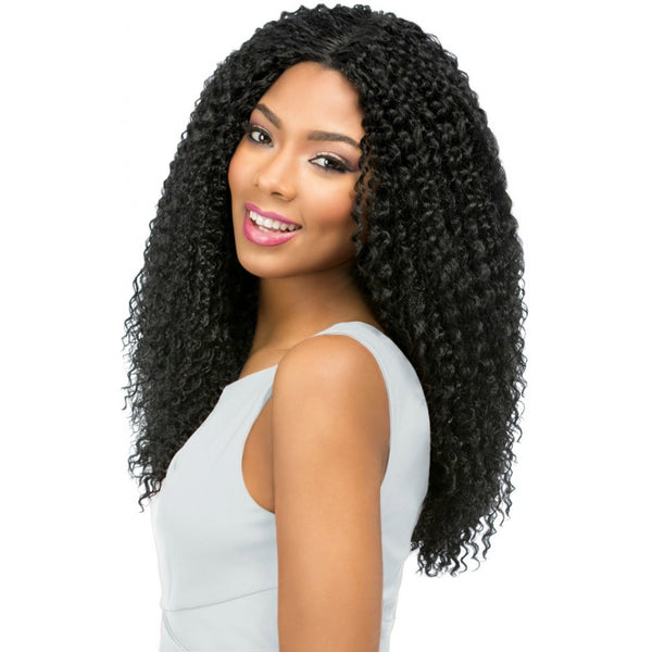 Sensationnel Empress Custom Lace Front Beach Curl Wig Quality
