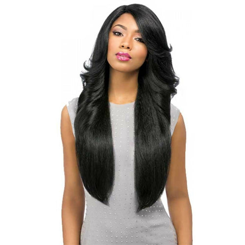 SENSATIONNEL EMPRESS CUSTOM LACE FRONT PERM WEDGE WIG