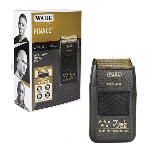 Wahl Professional 5-Star Series Rechargeable Finale Shaver/Shaper #8164