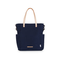 LONG TOTE 501 / COTNA WAX - NAVY - RAWROW