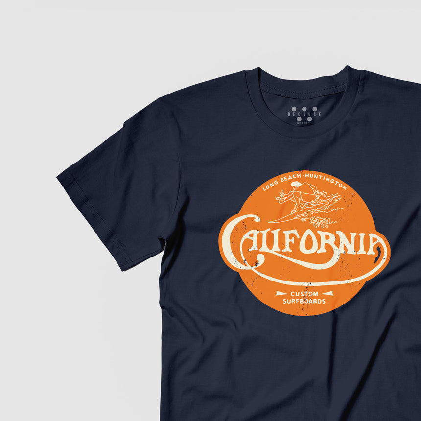 California Surfboards Tee