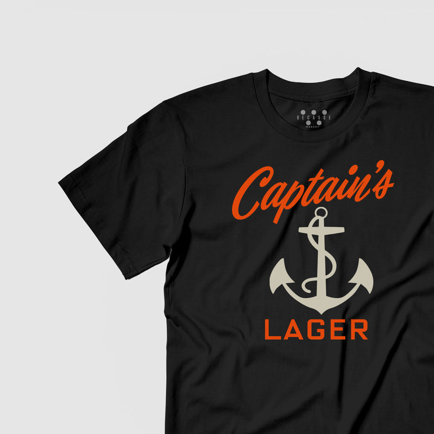Captain's Lager Tee
