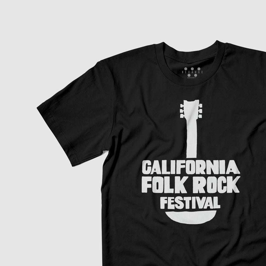 California Folk Rock Festival Tee