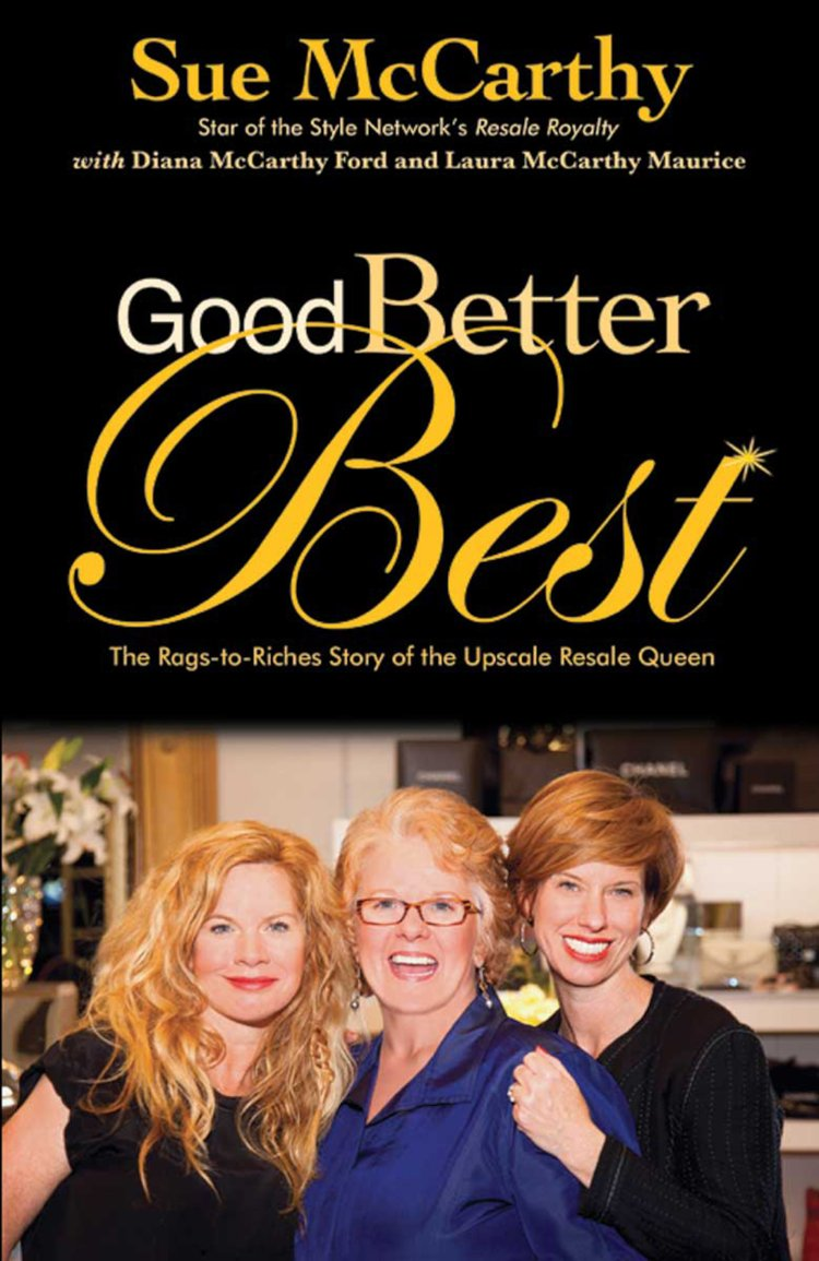 Sue McCarthy Good Better Best Entrepreneur Book
