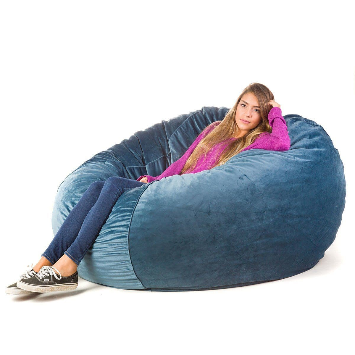 Convertible Bean Bag - POSH Bean Bag Chair - X-Large