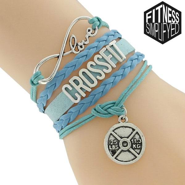 Love Crossfit Braided Bracelet