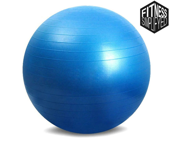 65cm Yoga Ball w/ Anti-Slip Material