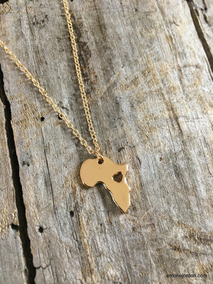 Love Africa Charm Necklace