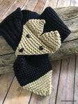 Crochet Toddler Scarf
